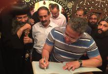 وزير الآثار يزور دير المحرق بأسيوط