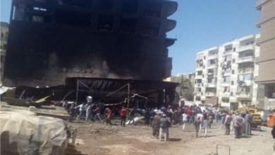 السيطرة على حريق داخل ورشة لتصليح السيارات بمدينة السلام