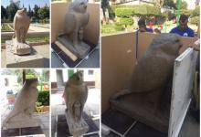 تمثال رمسيس الثاني والإله حورس