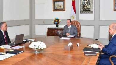 تفاصيل اجتماع الرئيس السيسي مع رئيس الرقابة الإدارية