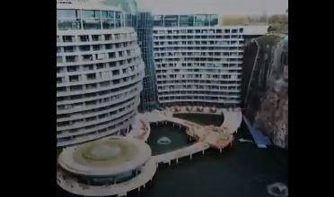 أول فندق تحت الأرض