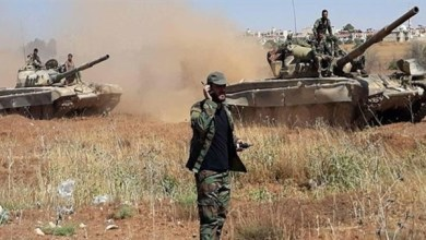 الجيش السوري يدمر آليات للإرهابيين بريف إدلب الجنوبي