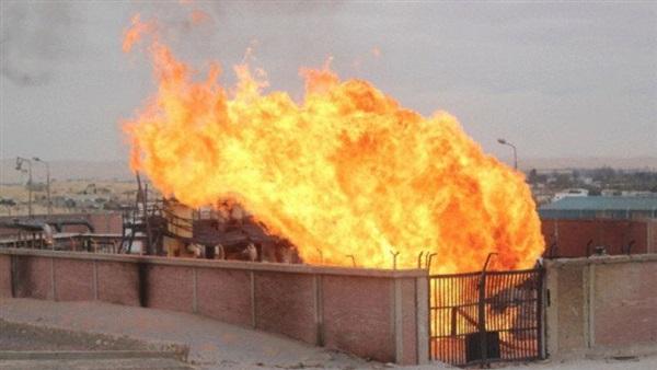 مقتل 5 أشخاص وإصابة آخرين في انفجار خط أنابيب للغاز جنوب إيران.. فيديو
