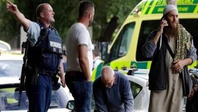 شاهد لحظة الهجوم المسلح على مسجد نيوزيلندا وسقوط عشرات القتلى