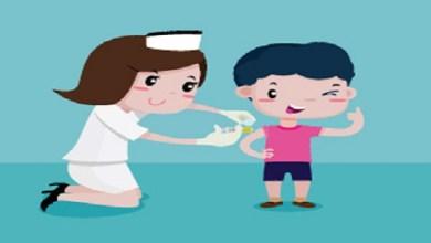 تكرار تطعيم الأطفال