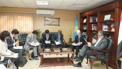 وزير السياحة والآثار يستقبل سفير اليابان بالقاهرة