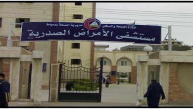 محافظ دمياط: إقالة مدير مستشفى الصدر ونائبه لإهمالهم تعليمات التعامل مع كورونا