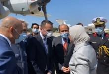 بالفيديو.. وزيرة الصحة تصل إيطاليا لتسليم شحنة مساعدات طبية لمكافحة كورونا