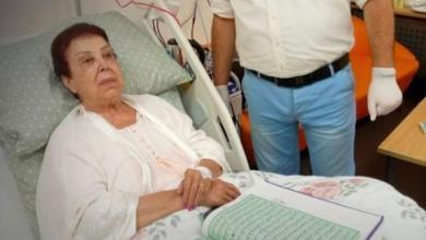 Photo of أول صورة للفنانة رجاء الجداوي من داخل مستشفى العزل