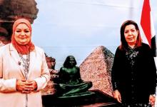 Photo of بوابة القاهرة تهنئ الدكتورة علا عبد الجواد لتوليها مستشار مصر الثقافي بفيينا