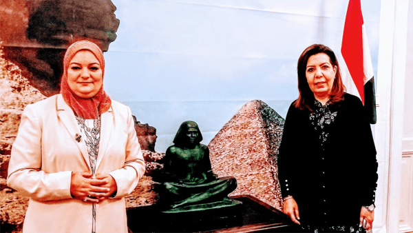 الدكتورة علا عبد الجواد مستشار مصر الثقافي بفيينا