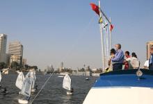 Photo of انطلاق فعاليات سباق المراكب الشراعية بنادي يخت القاهرة