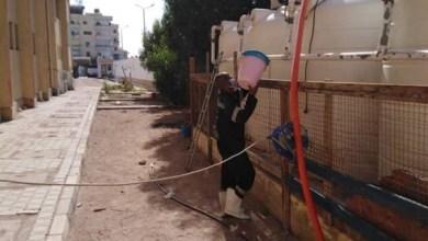 Photo of انطلاق مبادرة تطهير وتعقيم خزانات المياه بالمدارس بالبحر الأحمر