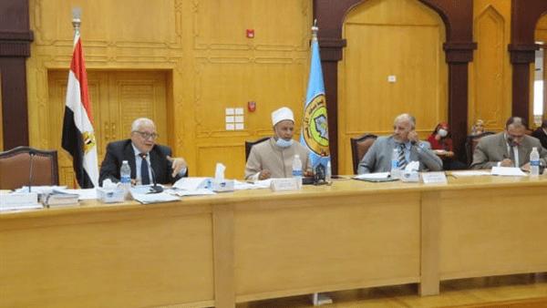 مجلس جامعة الأزهر