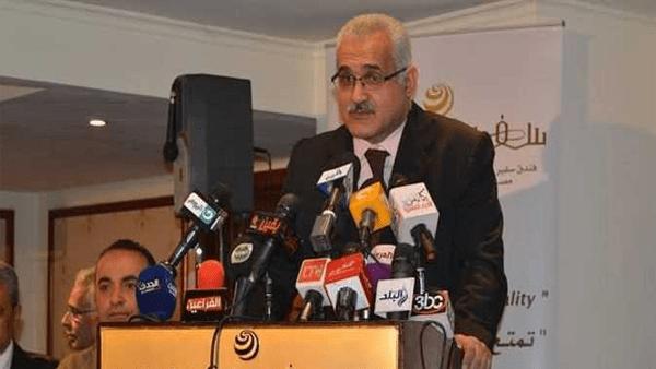 هشام العناني رئيس حزب المستقلين