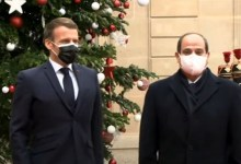 Photo of مراسم استقبال الرئيس السيسي بقصر الإليزيه (فيديو)