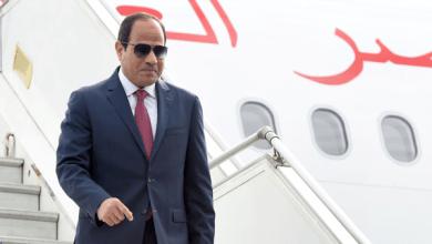 Photo of الرئيس عبد الفتاح السيسي يصل مقر إقامته بباريس