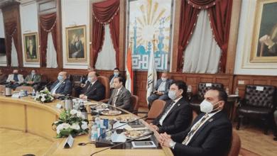 Photo of محافظ القاهرة يعقد اجتماعا مع أعضاء مجلس النواب الجدد