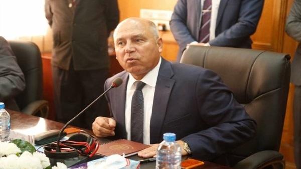 وزير النقل الفريق كامل الوزير