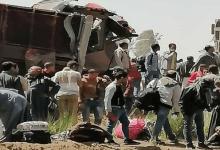 حادث قطار سوهاج.. وزيرا النقل والصحة يتوجهان لموقع الحادث