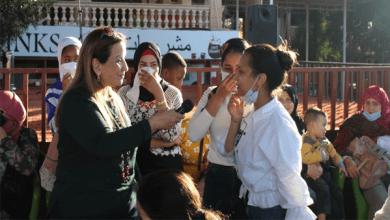 جمعية رعاية أطفال السجينات تنظم احتفالية عيد الأم بقرية الريف العربي