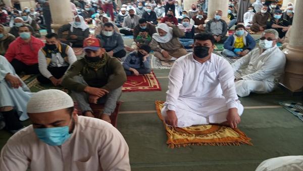 أوقاف كفر الشيخ: التزام المصلين في ثاني صلاة تراويح ولا توجد مخالفات.. صور