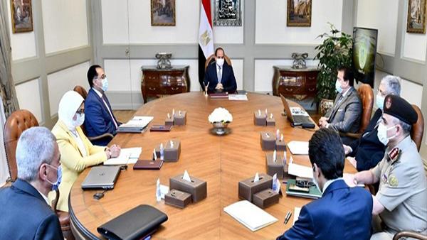 الرئيس السيسي يكلف الحكومة بحزمة تكليفات جديدة