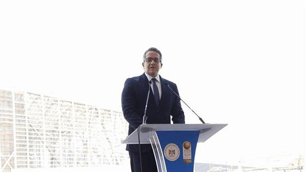 ننشر كلمة وزير السياحة والآثار خلال حفل موكب المومياوات الملكية