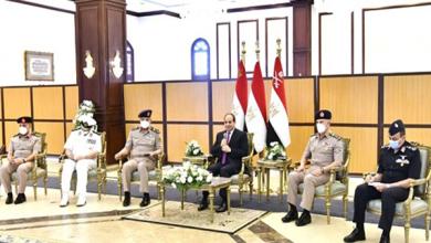 الرئيس السيسي: رجال القوات المسلحة هم إمتداد لجيل أكتوبر العظيم