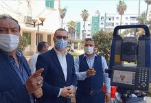 تدشين بدء العمل بوحدة نظم المعلومات الجيومكانية بكفر الشيخ