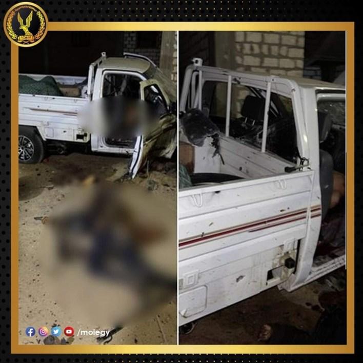 وزارة الداخلية تعلن مقتل 3 من أخطر العناصر الإرهابية في سيناء