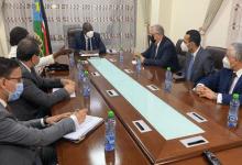 Photo of وزير الزراعة واستصلاح الأراضي يلتقي نائب رئيس جنوب السودان