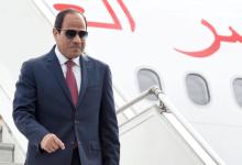 الرئيس عبد الفتاح السيسي يصل القاهرة عقب زيارة باريس