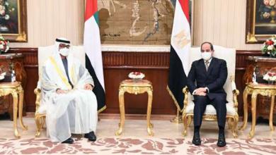 ولي عهد أبو ظبي يهنئ الرئيس السيسي بمناسبة عيد الفطر