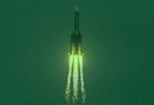 سقوط الصاروخ الصيني في المالديف