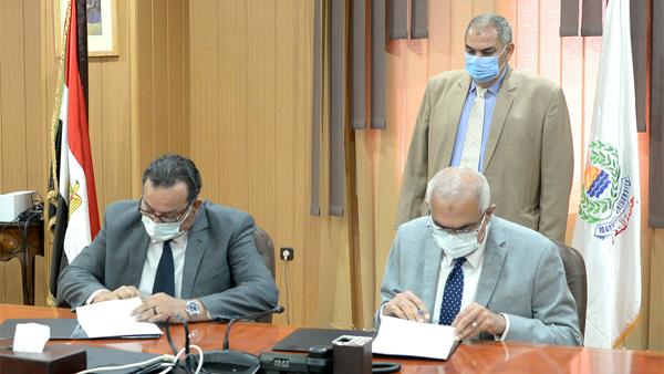 جامعة المنصورة توقع بروتوكول تعاون في التدريب والتعليم الطبي والرعاية الطبية
