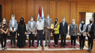 رئيس جامعة كفر الشيخ الجامعة تولي اهتمام بكافة أنشطة القومي للمرأة بالمحافظة