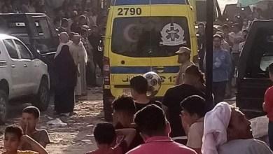 أهالي قرية الغرق تستعد لتشييع جثامين ضحايا مذبحة الفيوم