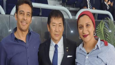 آية مدني تشيد بمراسم افتتاح كأس العالم للجمباز الفني