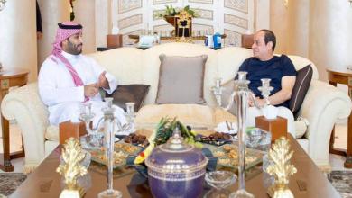 الرئيس السيسي يلتقي ولي العهد السعودي محمد بن سلمان في شرم الشيخ