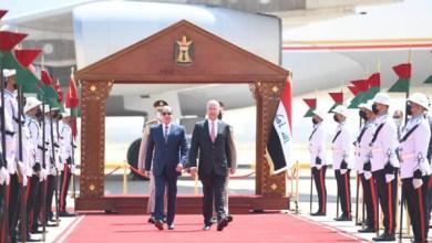 الرئيس عبد الفتاح السيسي يصل إلى العاصمة العراقية بغداد