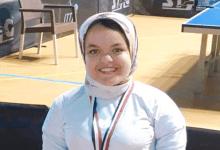 رنا شاهين تفوز بالمركز الثالث في بطولة تنس الطاولة لذوي الاحتياجات الخاصة