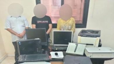 تفاصيل ضبط عصابة تزوير العملات الوطنية بكفر الشيخ