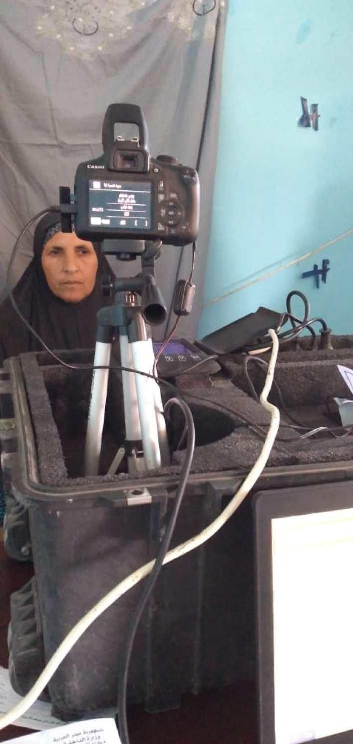 قومي المرأة بكفر الشيخ يستخرج 130 بطاقة رقم قومي للسيدات بالمجان
