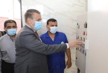 محافظ المنوفية يفتتح محطة صرف جزيرة الحجر بتكلفة 52 مليون جنيه