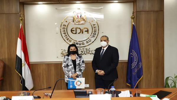هيئة الدواء المصرية: نثمن جهود الصحة العالمية في دعم قطاع الدواء المصري