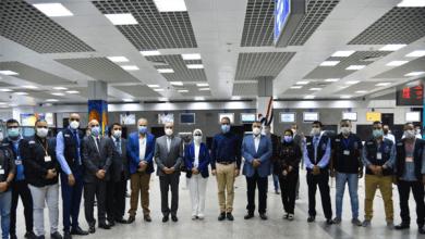 وزراء يتفقدون الحجر الصحي بمطار الغردقة الدولي