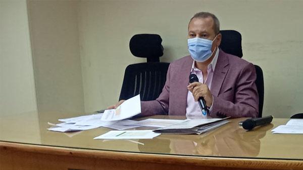وكيل وزارة الصحة بالدقهلية يناقش آخر مستجدات تفعيل برنامج الزمالة المصرية