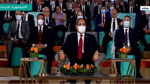 الرئيس عبد الفتاح السيسي يطلق اتحاد شباب الجمهورية الجديدة