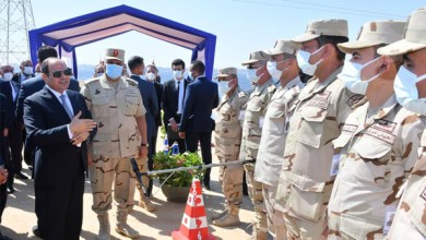 الرئيس السيسي يتفقد أعمال تطوير المحاور والطرق في الإسكندرية